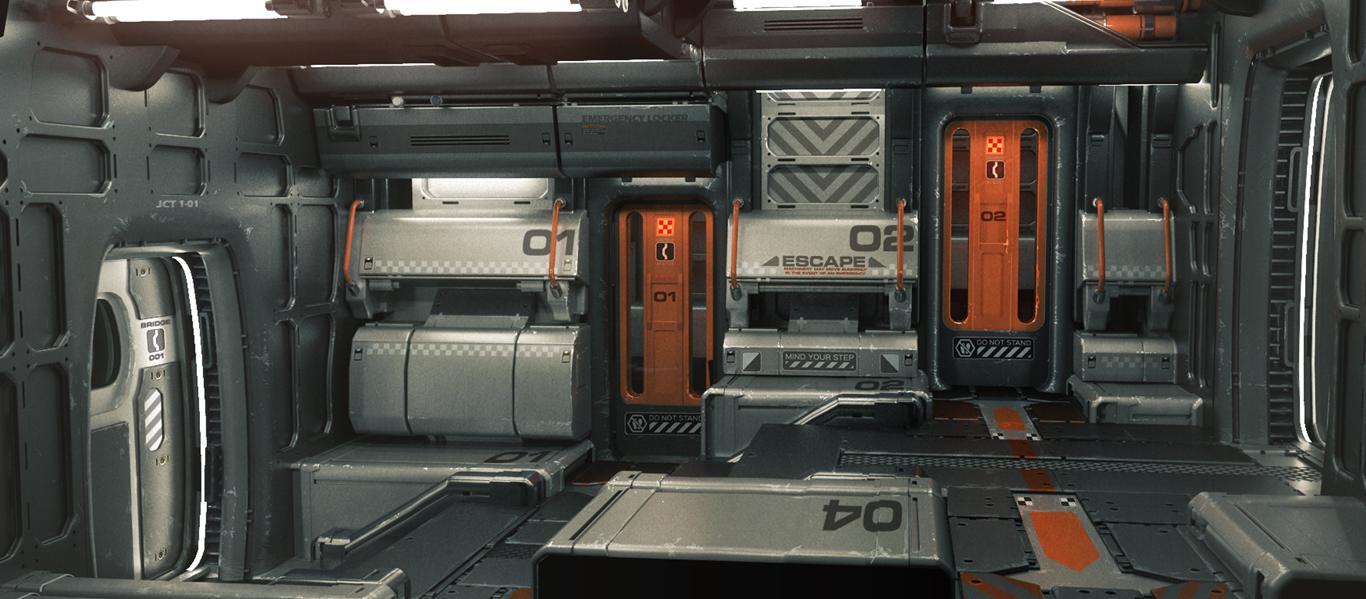 capsula de escape es un juego de salir de la habitacion en el espacio